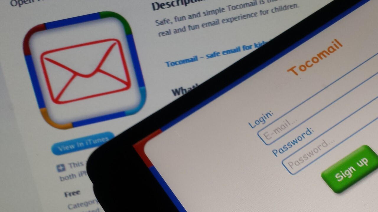 Tocomail makes email child's play