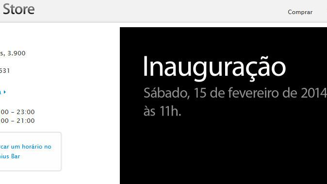Apple's first Brazilian retail store will open in Rio de Janeiro on February 15