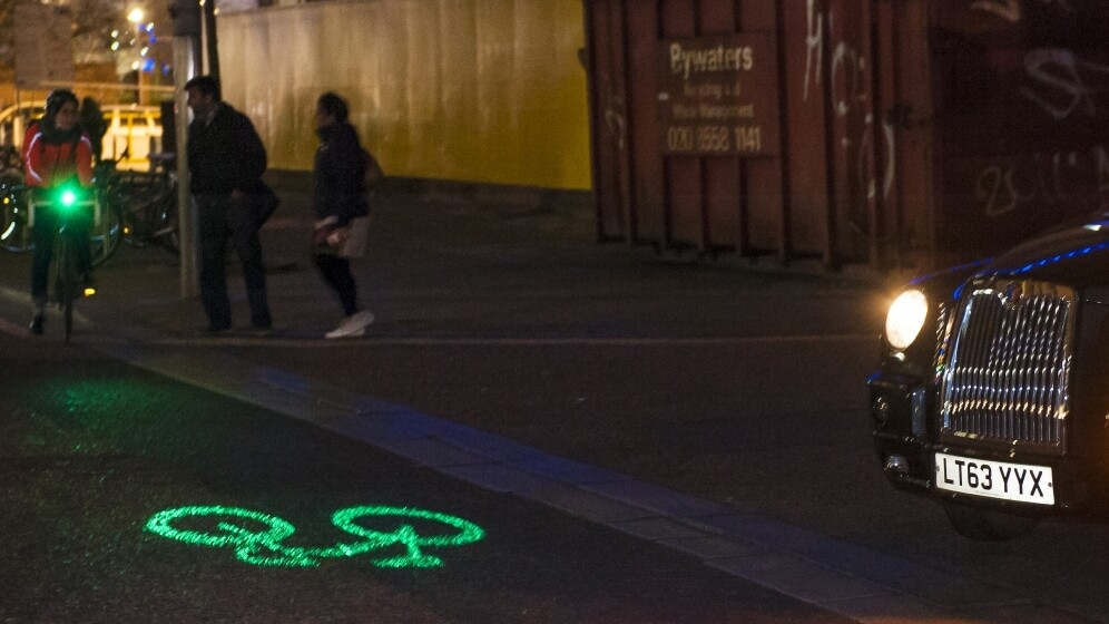 Watch out! Blaze's Laserlight for cyclists is now available to pre-order, shipping February 26
