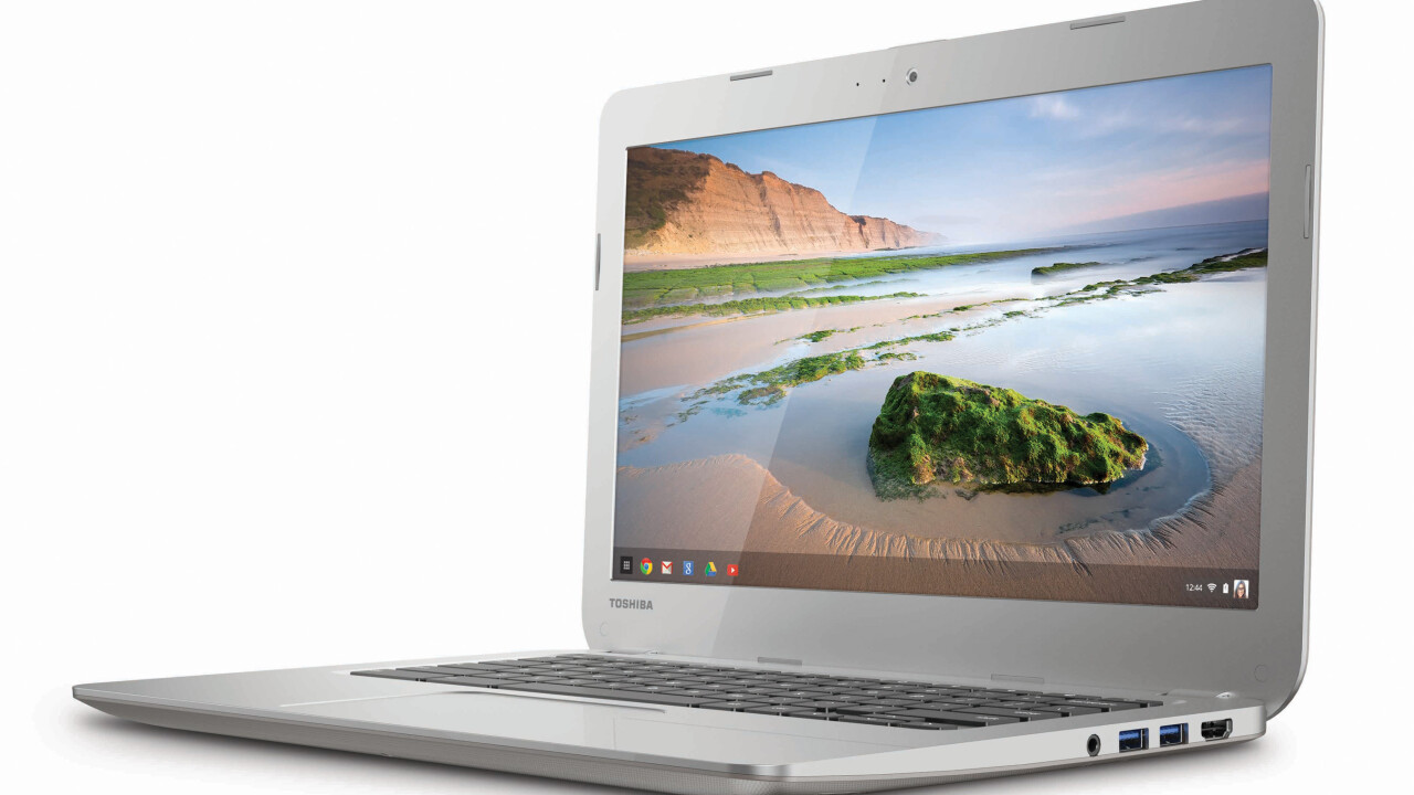 Toshiba's new 13.3-inch Chromebook is now available to pre-order for $280