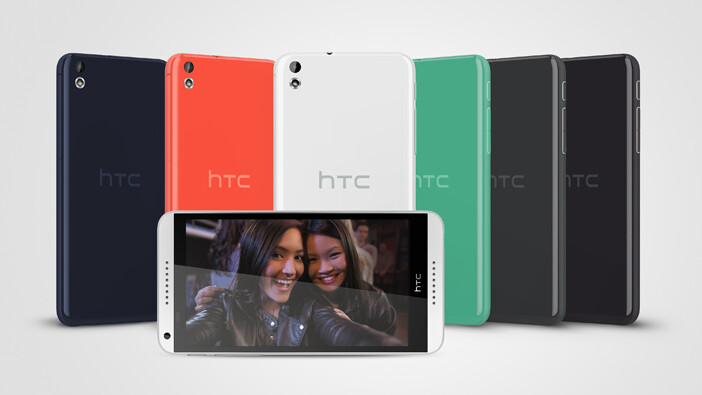HTC unveils mid-range Desire 816 Android smartphone with 5.5″ 720p display and BoomSound speakers