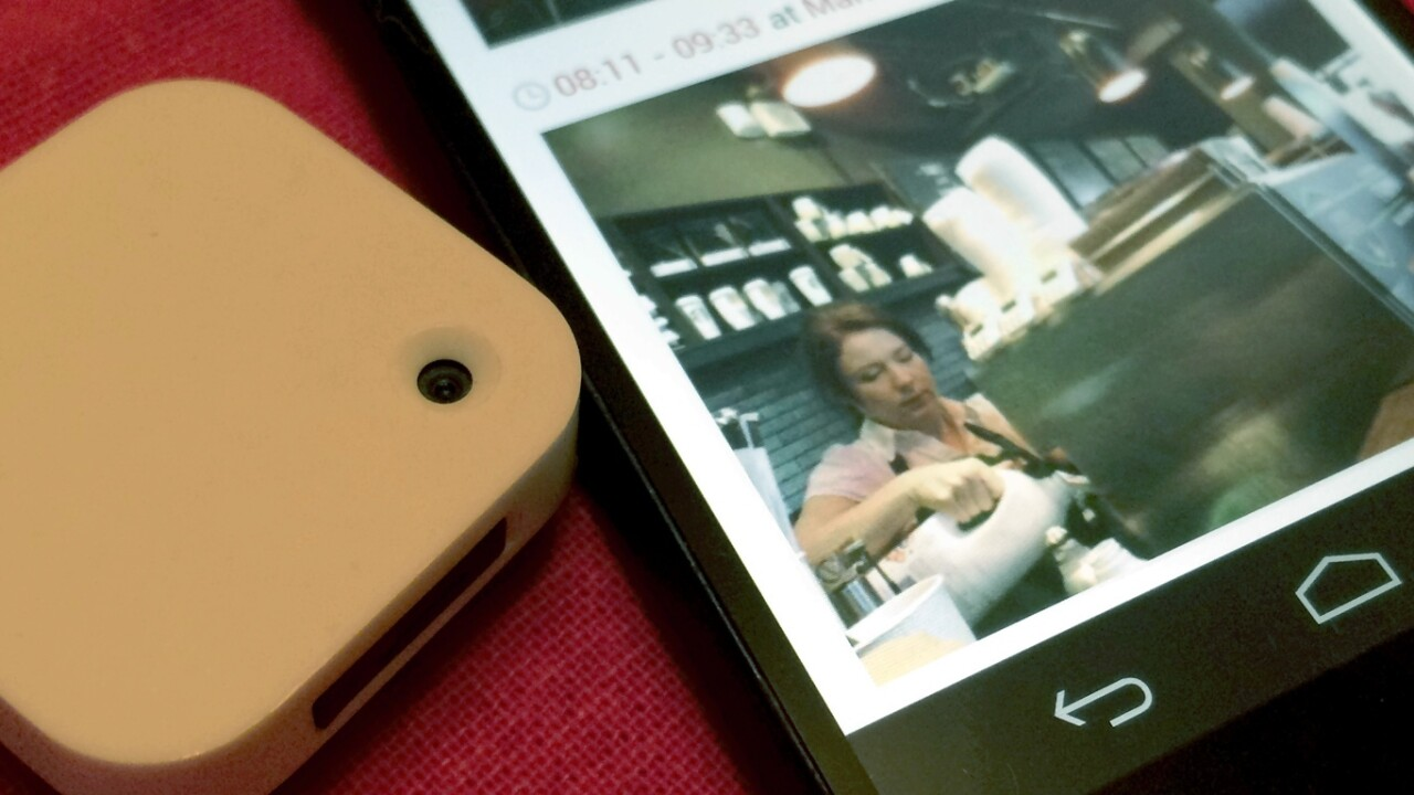 Narrative Clip review: A tiny camera that captures a view of your life every 30 seconds