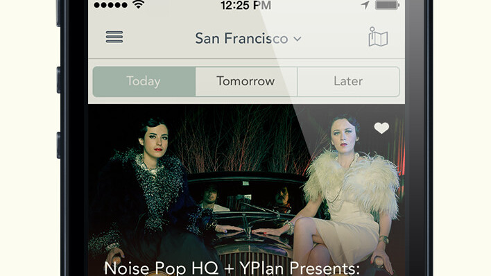 Last-minute night out app YPlan arrives in San Francisco with Noise Pop partnership