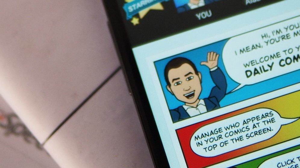 Snapchat reportedly buys Bitstrips for roughly $100 million
