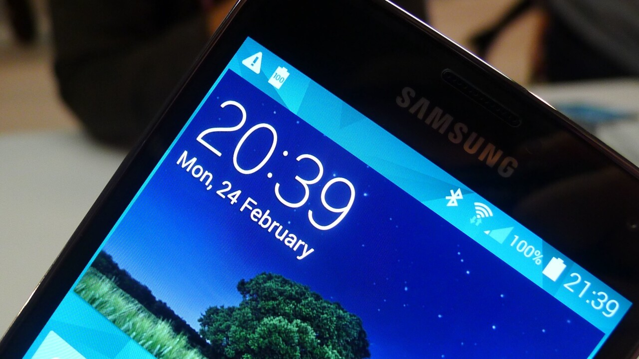 Samsung Galaxy S5 preorders start at AT&T on March 21 for $199.99, devices ship in 'early April'