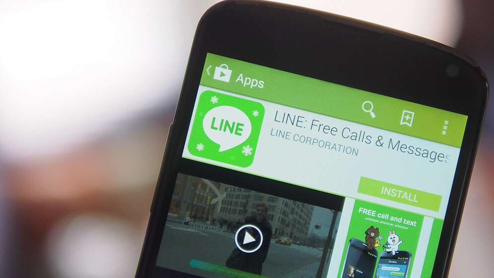 Messaging app Line launches its cheap call service on Android in 8 countries, taking on Skype