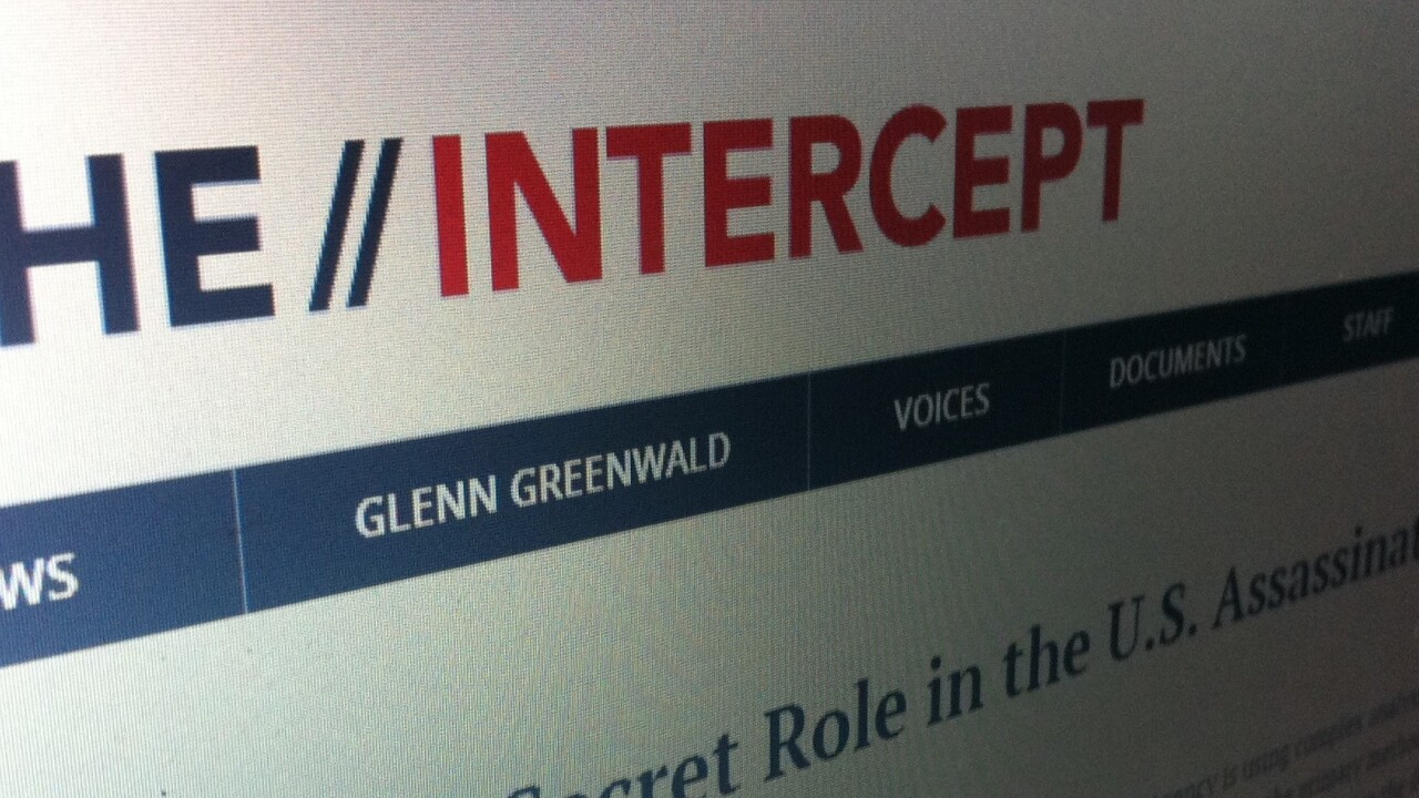 The Intercept, the first online publication from eBay founder Pierre Omidyar, is now live