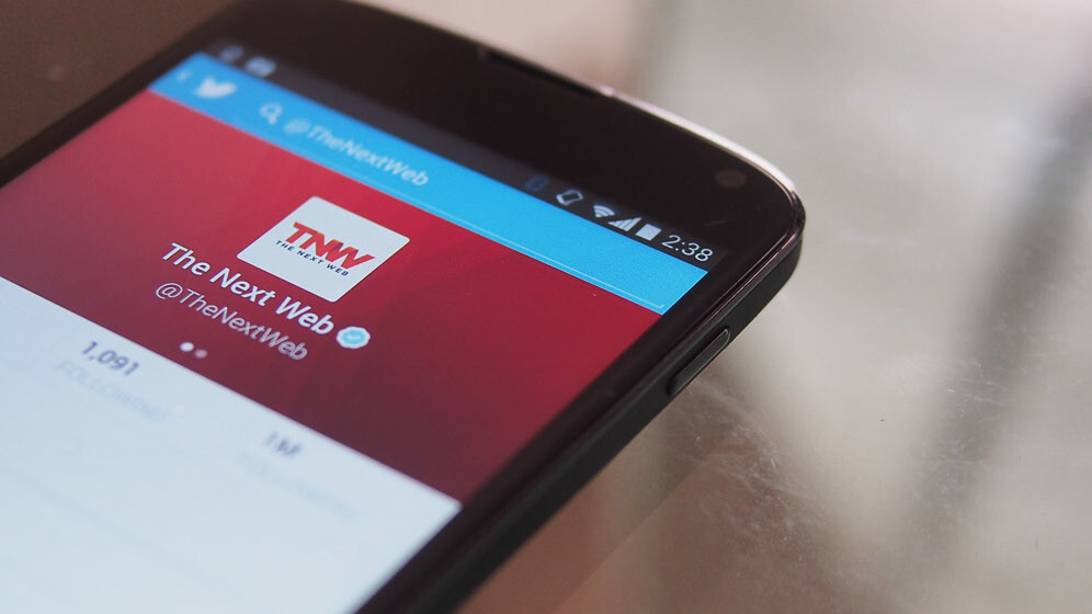Twitter for Android swaps the Favorites star for a heart… for some people at least