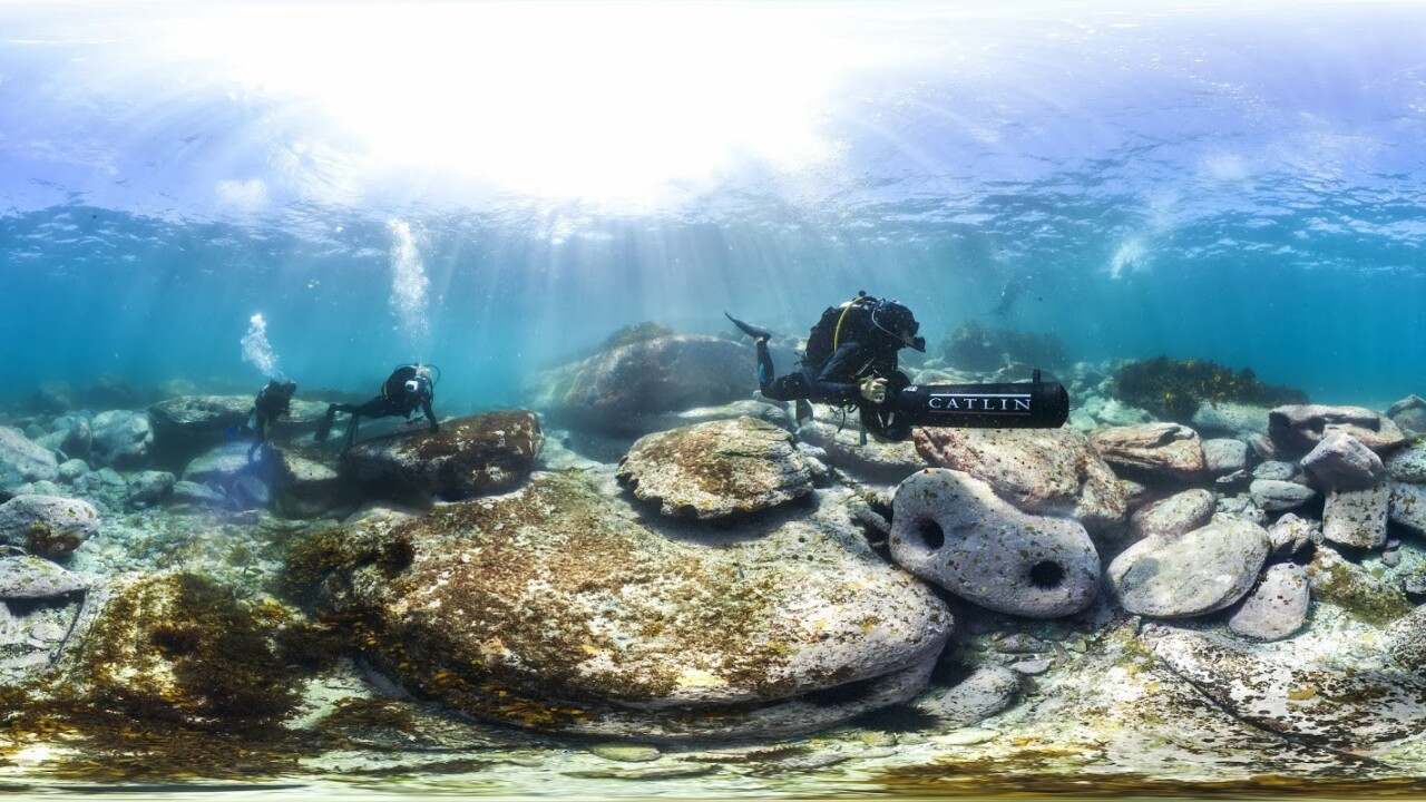 Google is capturing underwater Street View photos around Sydney's harbor and coastline
