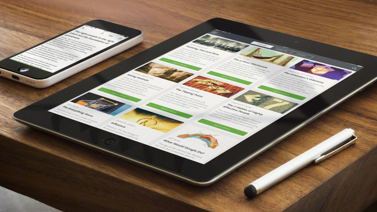 Blinkist now lets you get the gist of books in 15 minutes directly from your iPad