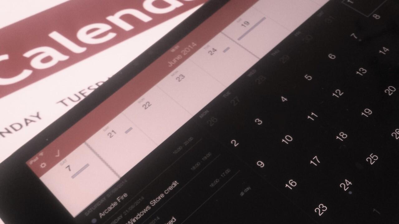Flexibits' Fantastical calendar app is now available on iPad