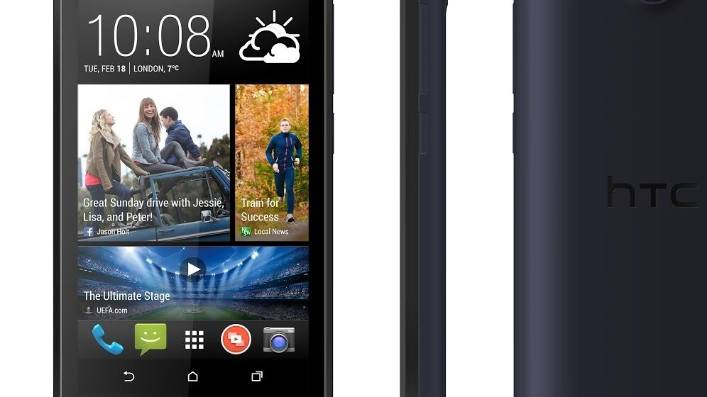 HTC launches Desire 310 entry-level smartphone with 1.3GHz quad-core processor and 4.5″ display
