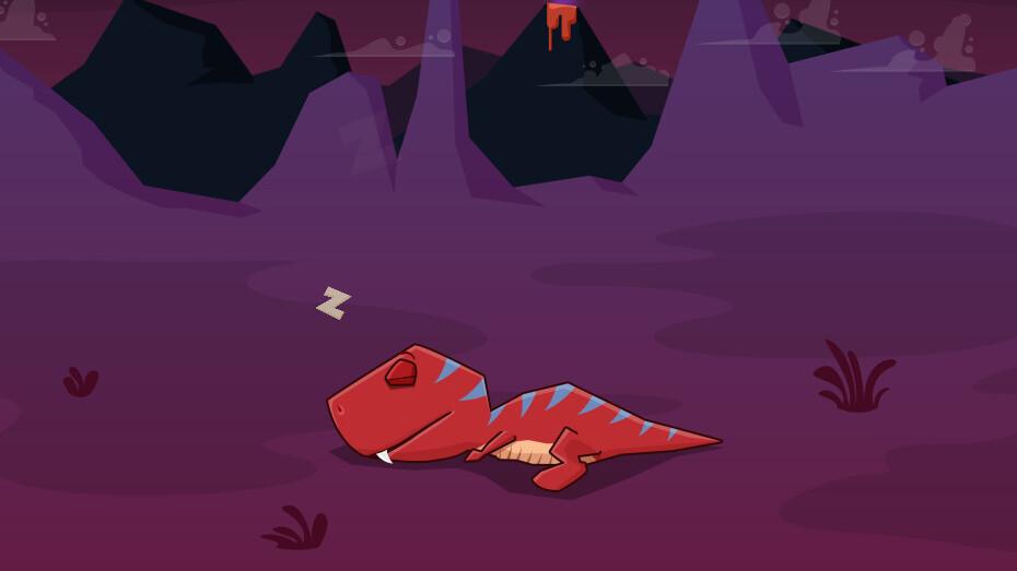 Sleepasaurus for iOS uses dinosaurs to help train your kids to sleep