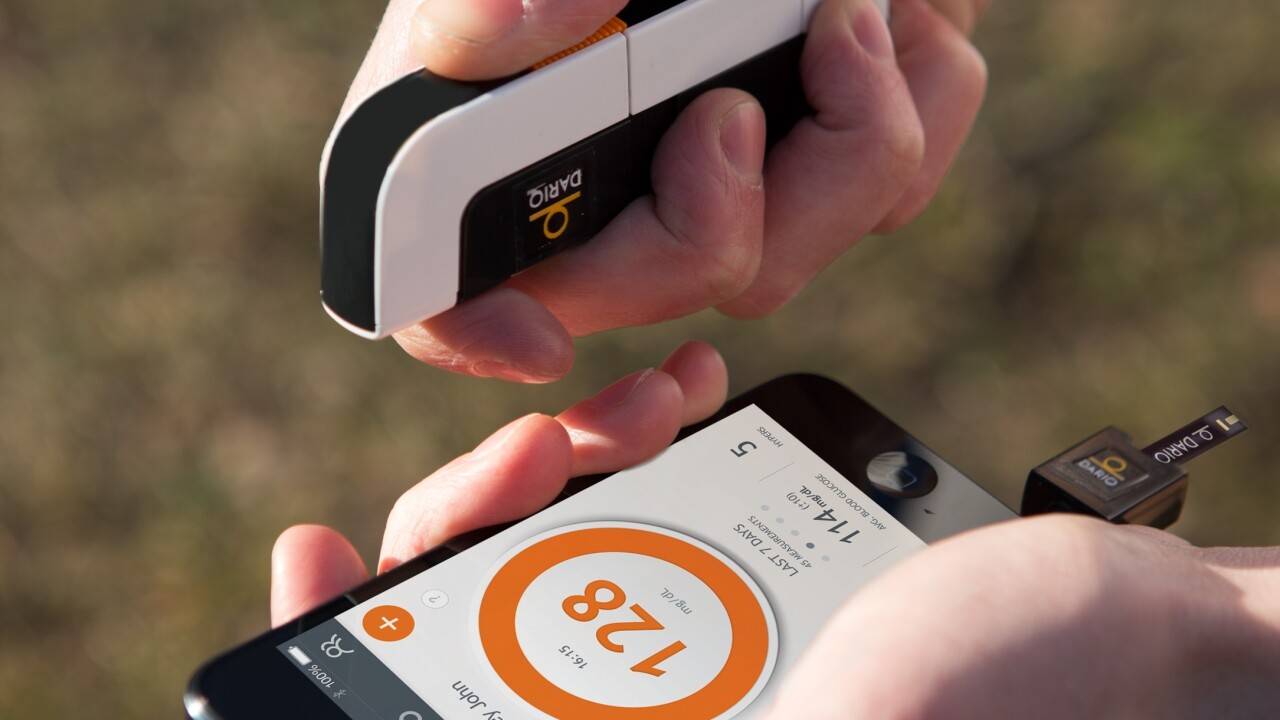 Dario offers a glucose meter and connected apps to help people with diabetes track their health