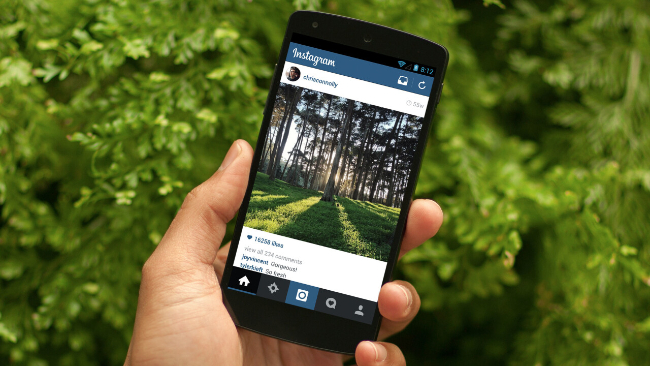 Instagram for Android gets faster, more responsive and a gorgeous flat redesign