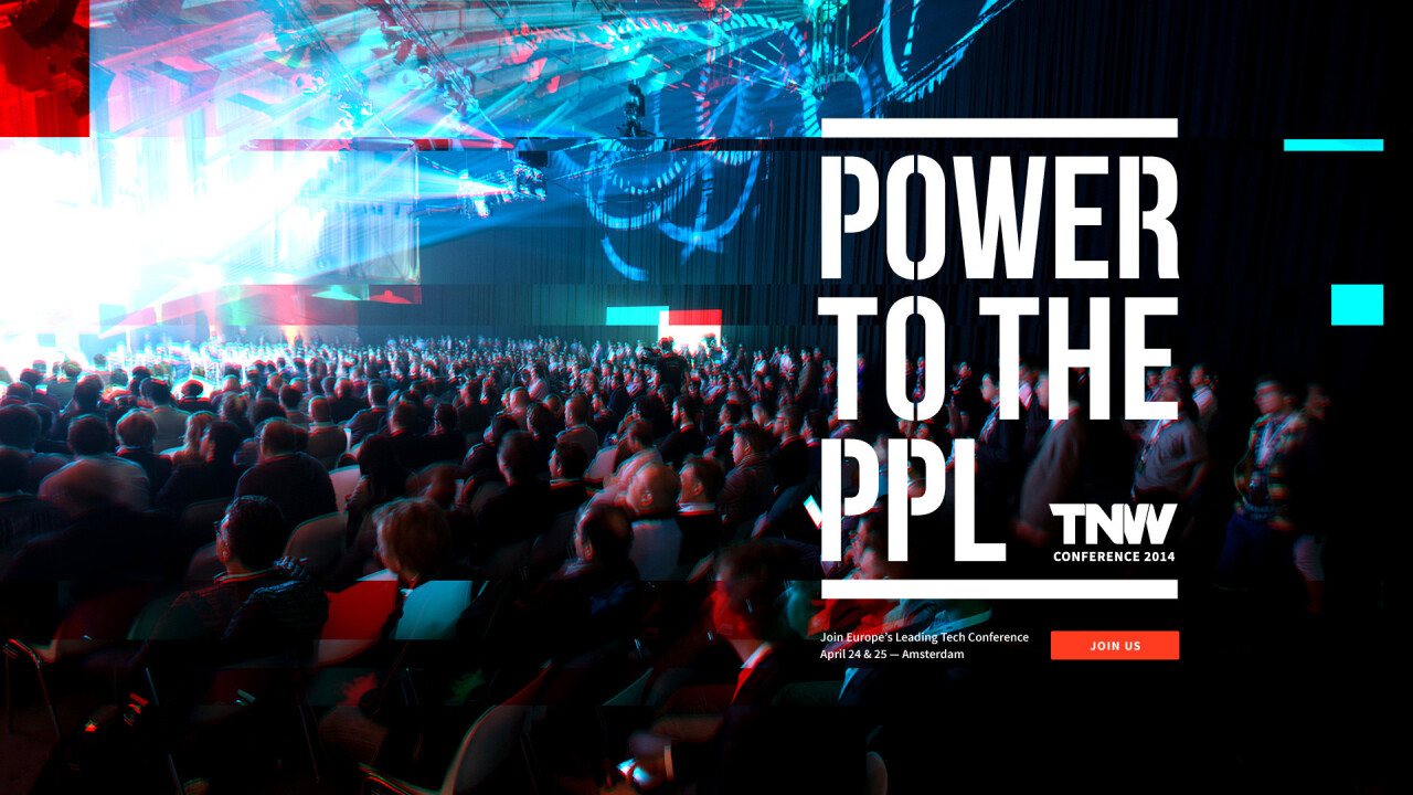 Power to the people: TNW Conference Europe celebrates the people's revolution