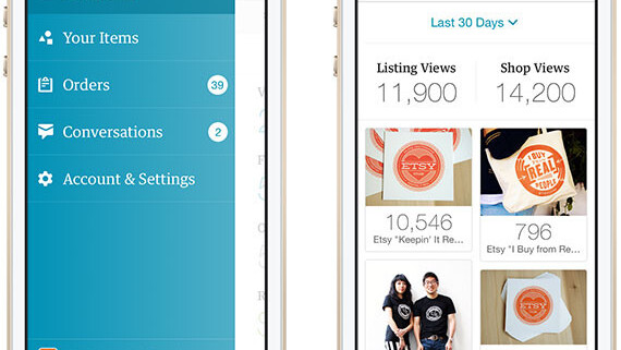 Etsy launches a new iPhone app to help sellers do more on the go