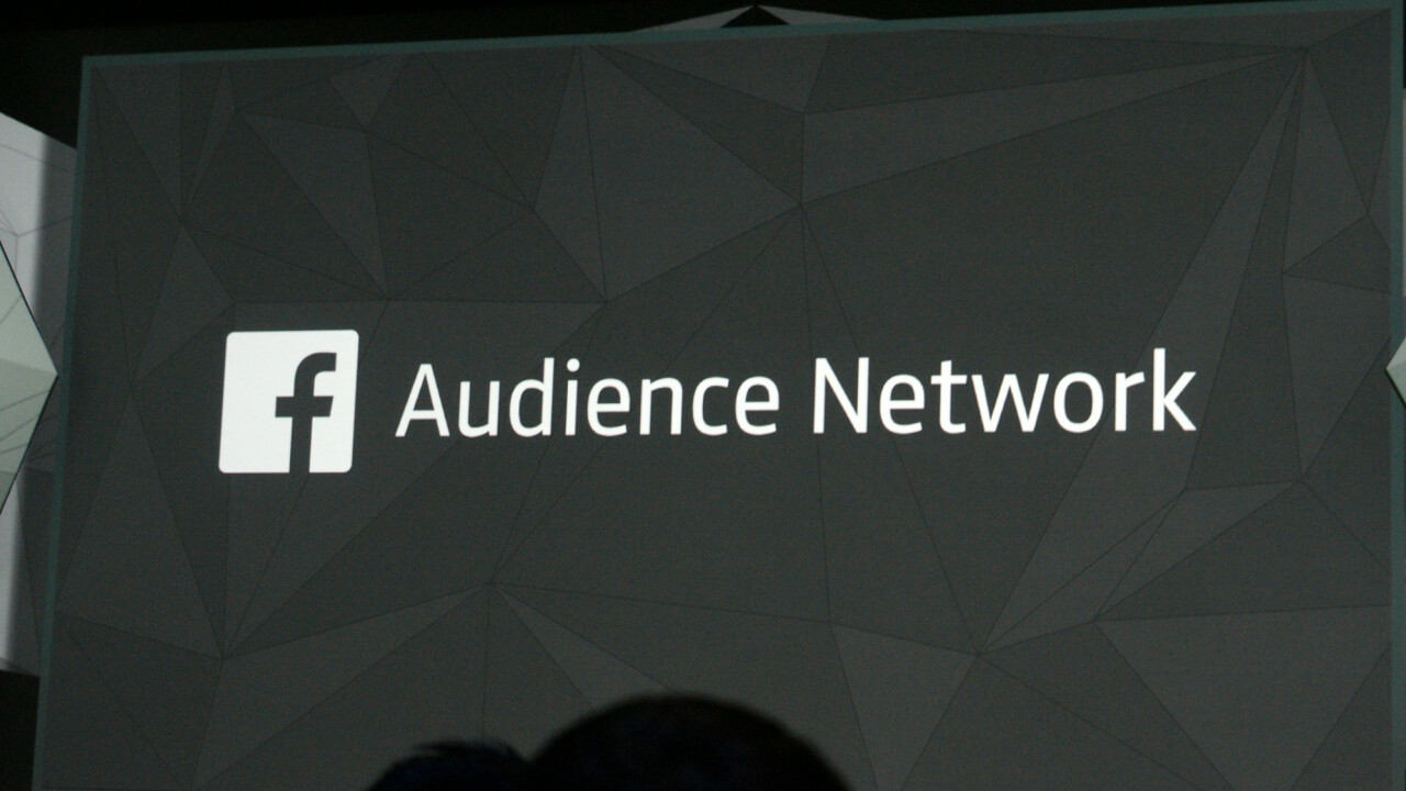 Facebook unveils Audience Network, its mobile ad network for third-party apps