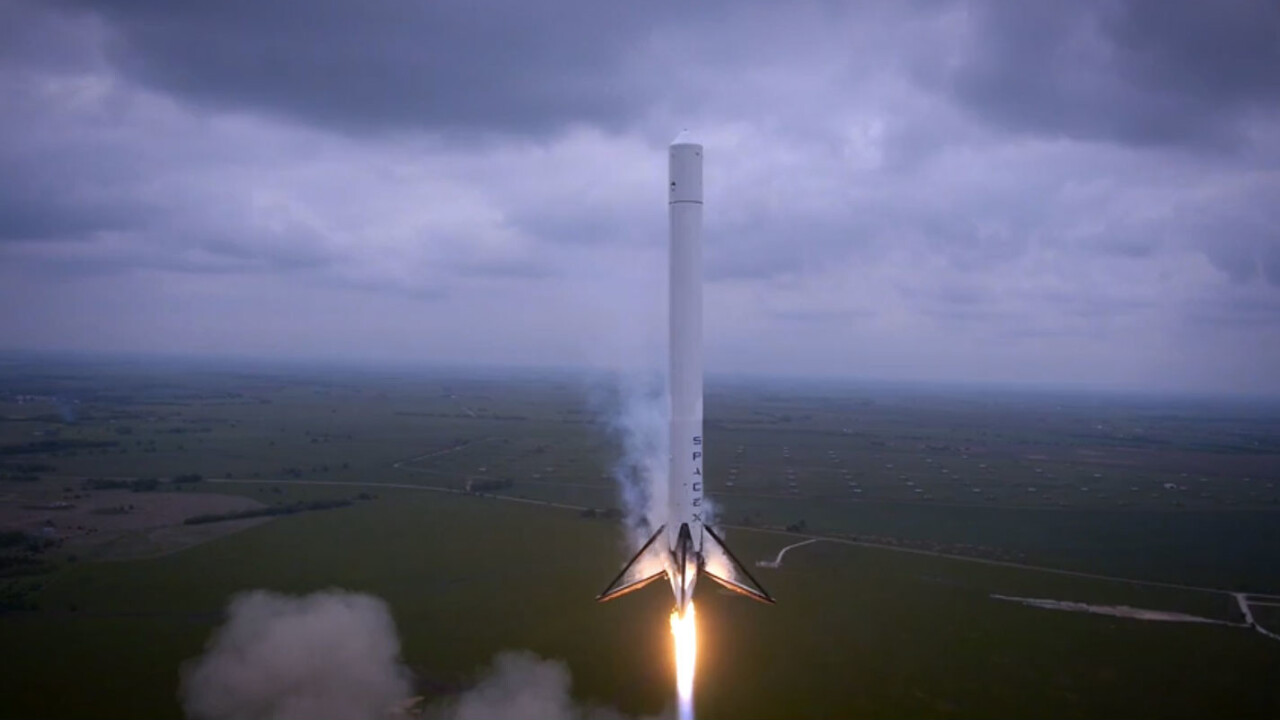 Watch: Amazing drone footage of a Space X reusable rocket's first test flight