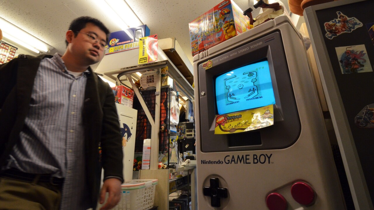 Nintendo's original Game Boy is now 25 years old