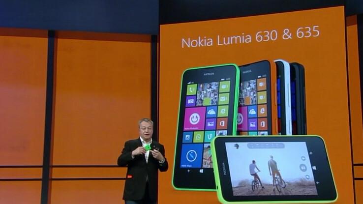 Nokia unveils the budget 3G Lumia 630 and 4G Lumia 635 smartphones