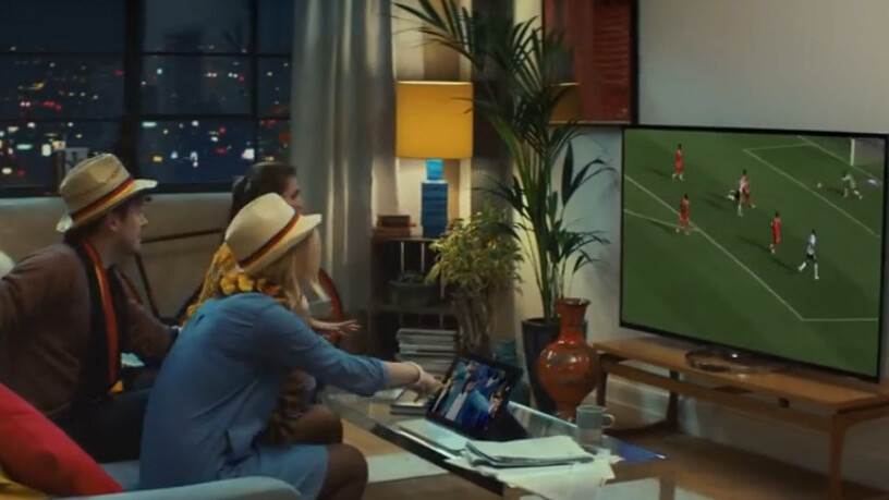 Sony will film three full matches from the 2014 FIFA World Cup in super hi-res 4K