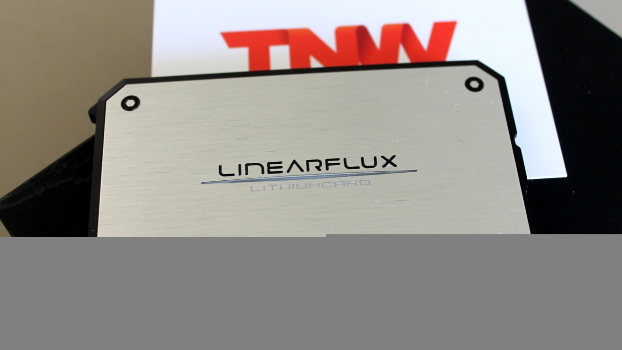 LithiumCard: A Slimline battery pack designed to turbo-charge your gadgets