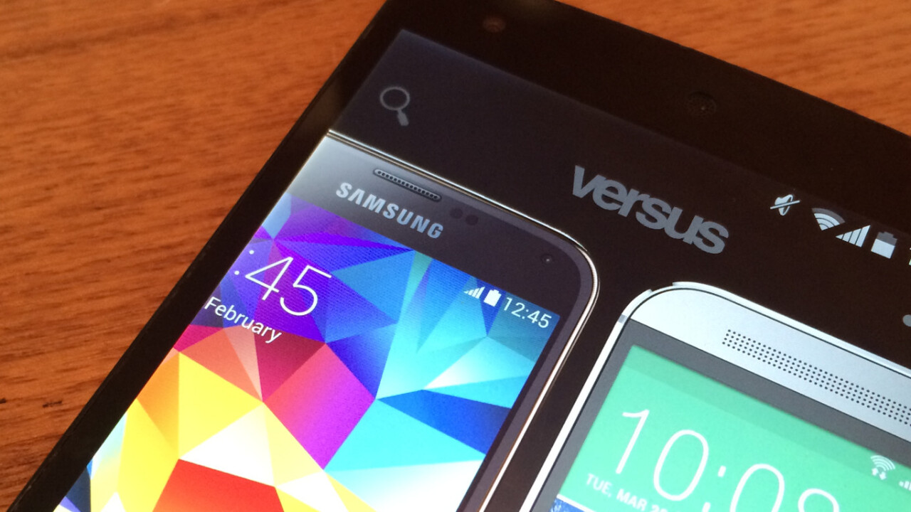 Compare any two gadgets (and more) instantly with Versus for Android