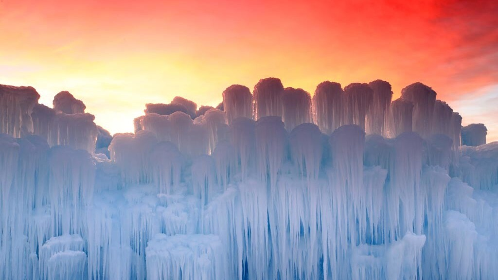 Journey through the colossal ice castles of the American Southwest
