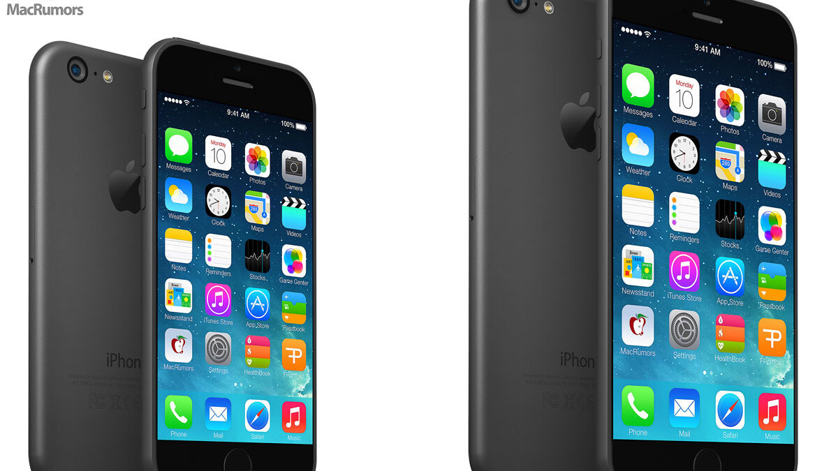 These new mockups show what the iPhone 6 may look like
