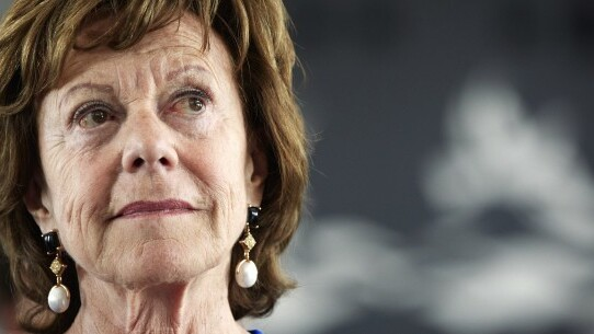 """EU Commission VP Neelie Kroes is """"outraged"""" by Uber ban in Belgium [Update]"""