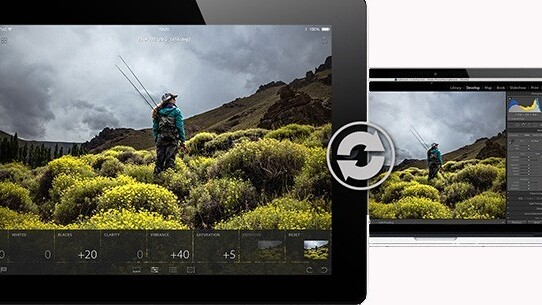 Adobe Lightroom Mobile for iPad highlights integrated collaboration between the desktop and tablet