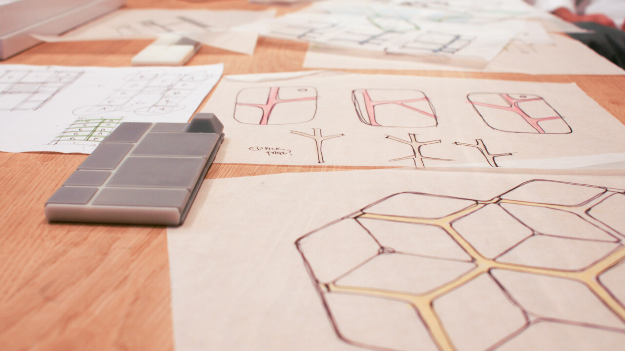 Behind the scenes: How beehives inspired the design of Google's innovative Project Ara smartphone