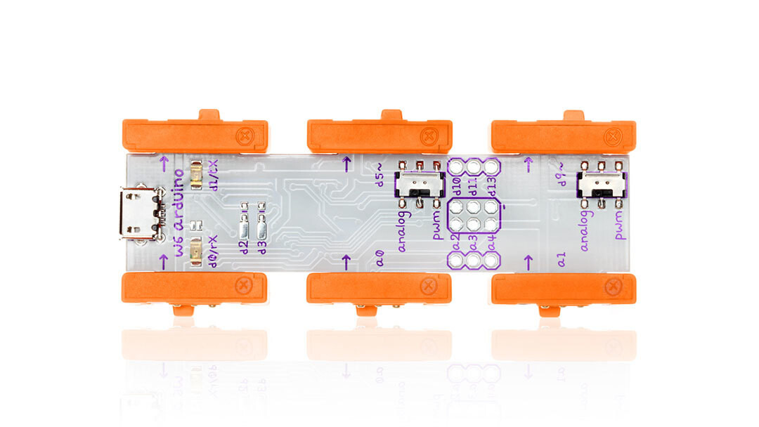 LittleBits adds programmable Arduino to quick-prototyping hardware modules