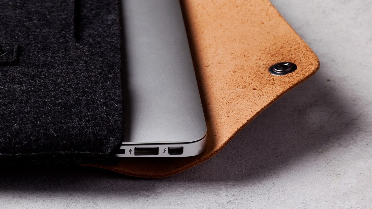 Meet Mujjo's latest line of luxurious leather sleeves for iPhone, iPad and Mac