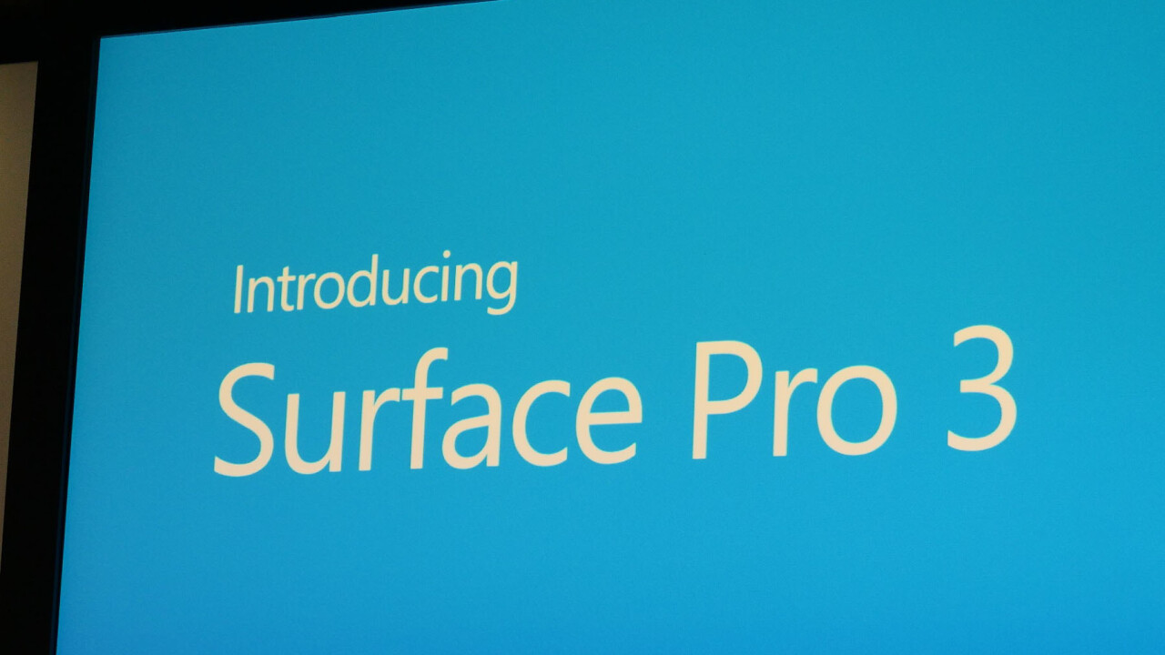 Microsoft announces Surface Pro 3 with 12″ screen, Core i3/i5/i7, kickstand, pen, shipping on June 20 for $799