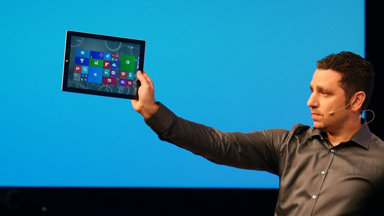 Microsoft unveils new Type Cover for Surface Pro 3: 63% larger trackpad and magnetic sealing mode