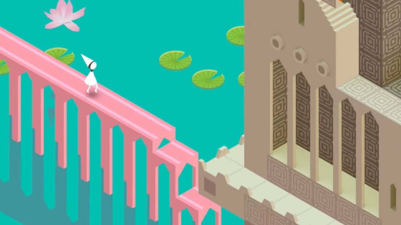 Beautiful puzzle game Monument Valley wanders onto Android