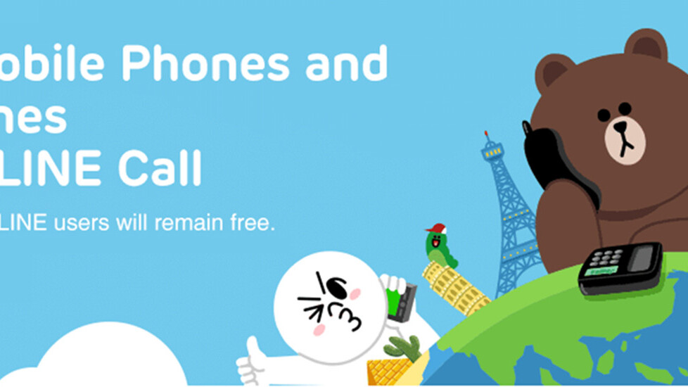 Line brings its cheap calling service to iOS users in 10 countries, including the US