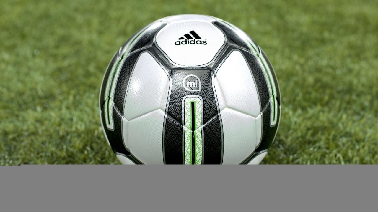Adidas miCoach Smart Ball uses sensors and a companion app to help you 'bend it like Beckham'