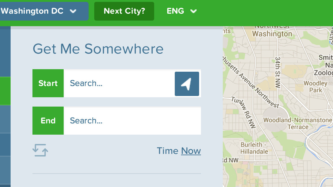 Citymapper adds Boston and Washington DC to its Android app for public transport directions