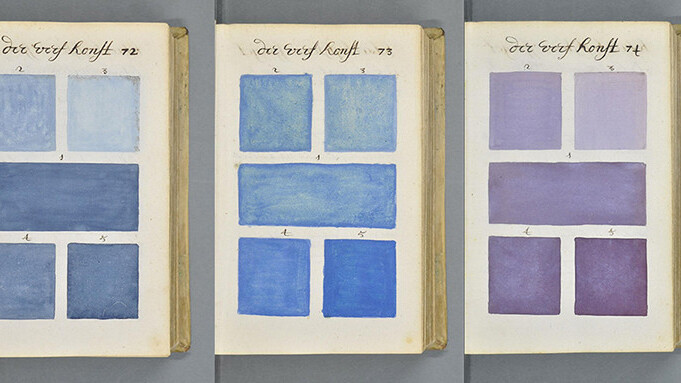 This 17th-century hand-painted art book bears an uncanny resemblance to the Pantone system