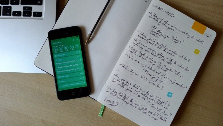 Evernote Business Notebook Review: Another Smart Moleskine Jotter