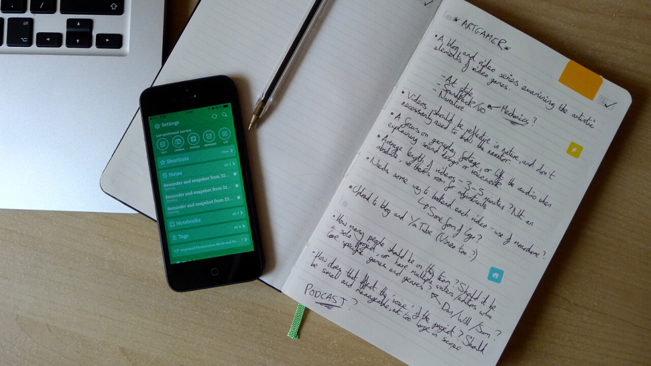 Evernote Business Notebook review: A stylish Moleskine jotter to organize your handwritten notes
