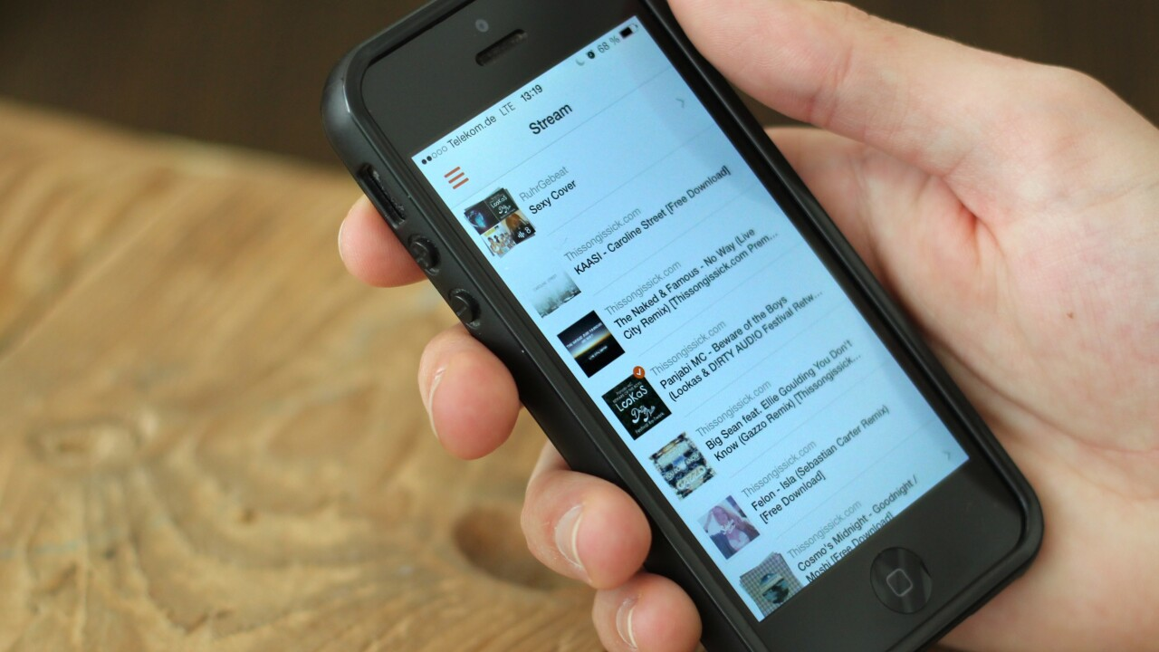 Soundflake is a brilliant SoundCloud client for your iPhone [Updated]