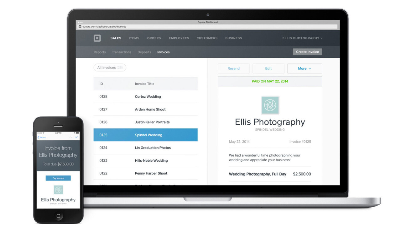 Square announces invoicing feature for business customers