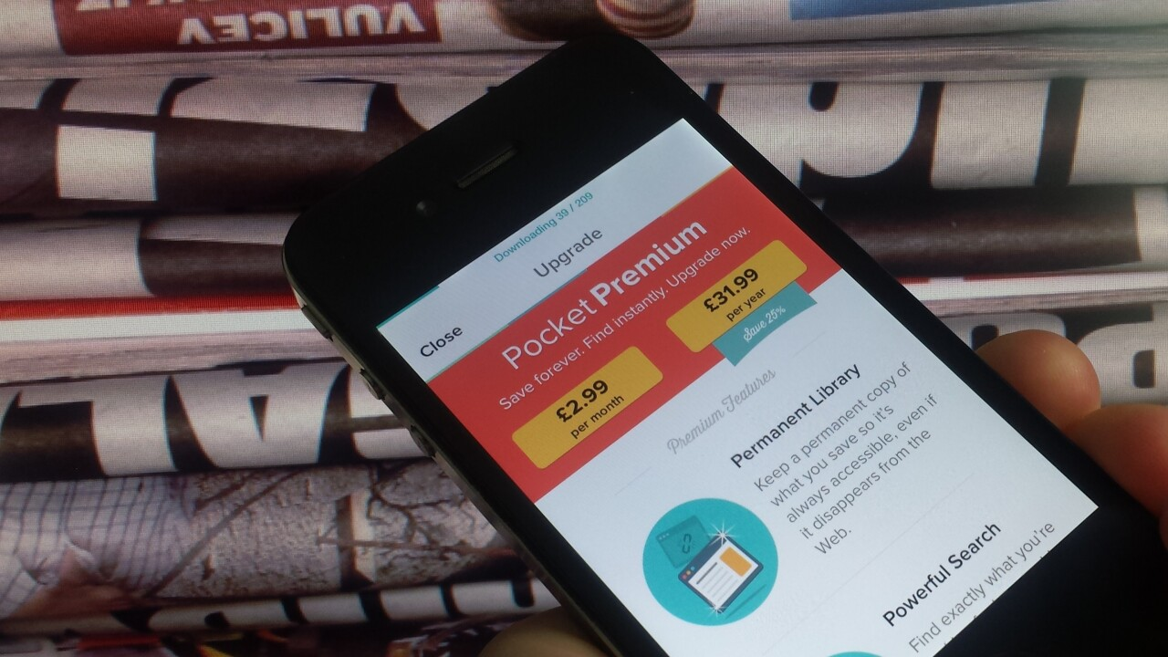 The road to revenue: Can Pocket's Premium subscription model work?