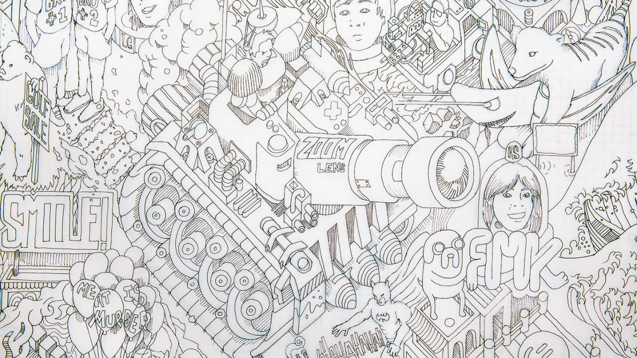 Internetopia: New crowdsourced drawing spotlights a teeming universe of human psychodrama