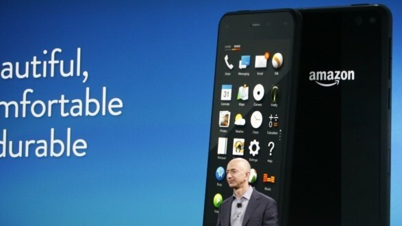 718d1c92d46476 Amazon's Fire Phone arrives on July 25 for $199 (32GB) and $299 (64GB) from  AT&T