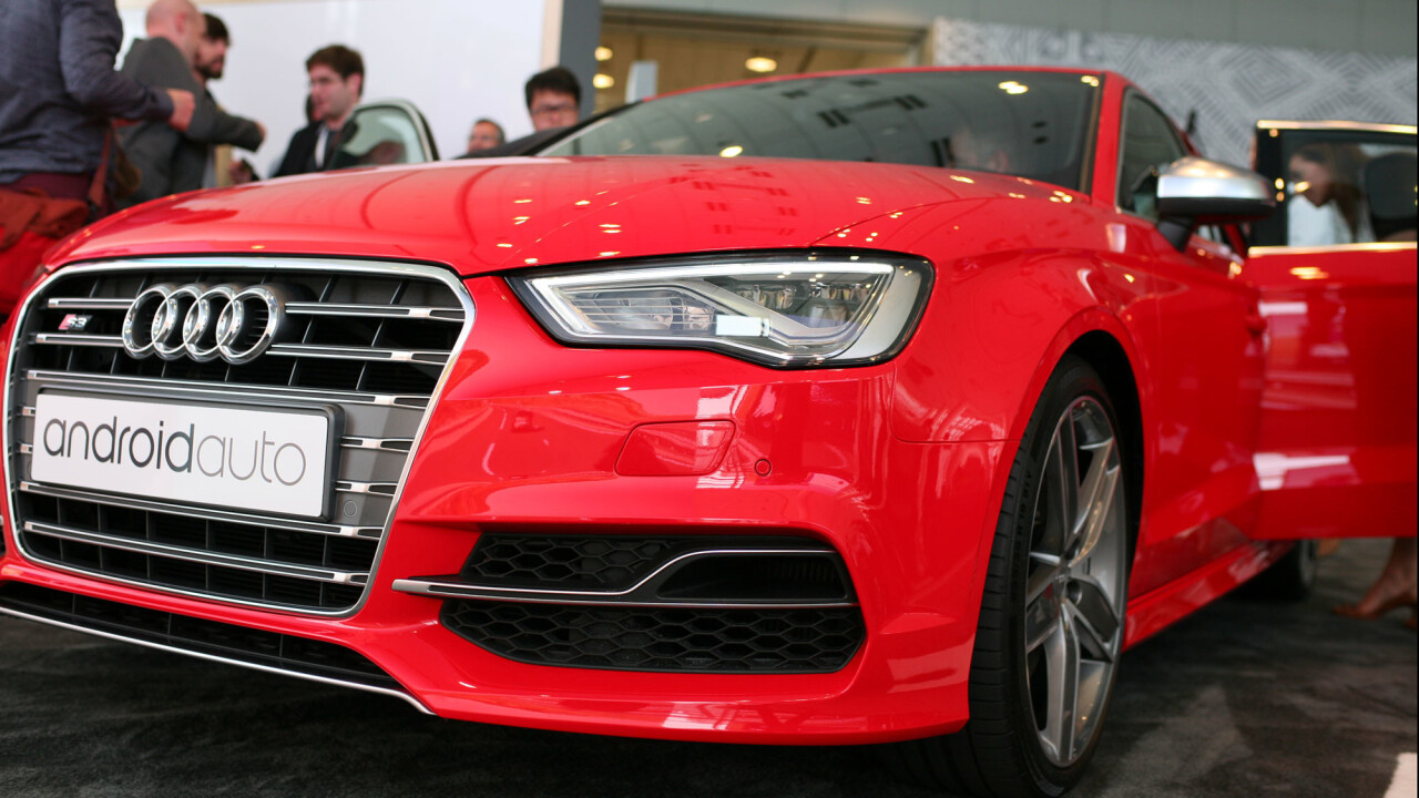 Hands on with the Audi A3 with Android Auto